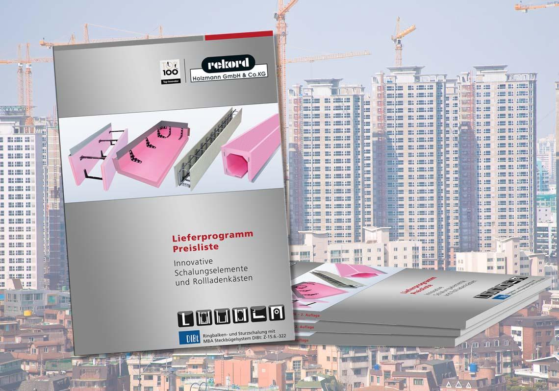 Katalog für Branchenführer der Bauindustrie